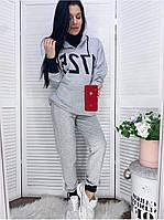 Женский спортивный костюм толстовка и штаны