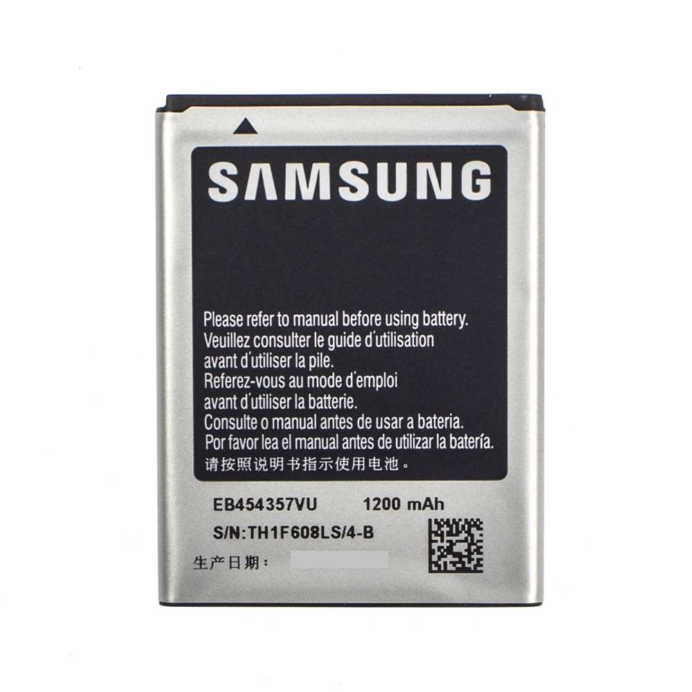 Акумулятор EB454357VU для Samsung S5302 Galaxy Pocket Black 1200 mAh (00838-9)