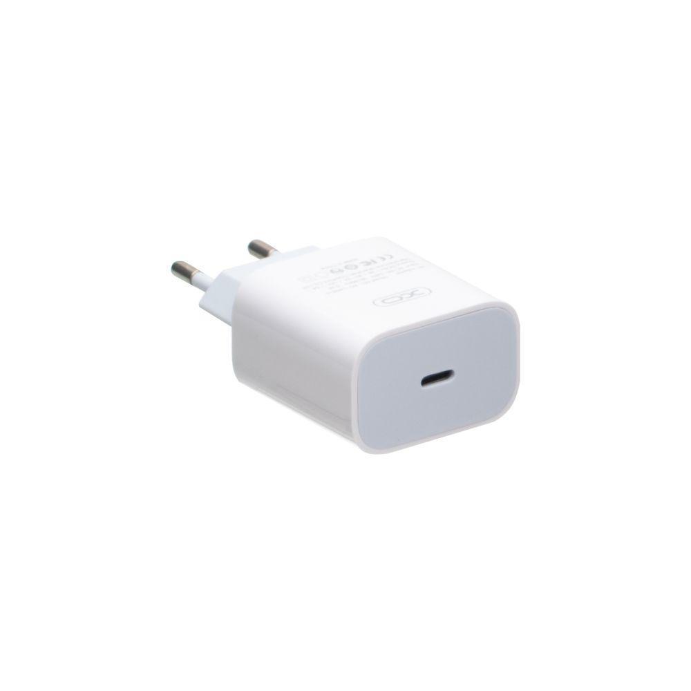 Зарядний пристрій XO L40 3.0 A 18W Type C з кабелем Type C Білий