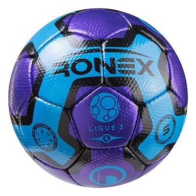 Мяч футбольный Cordly Dimple Ronex (UHL), синий/фиолетовый.