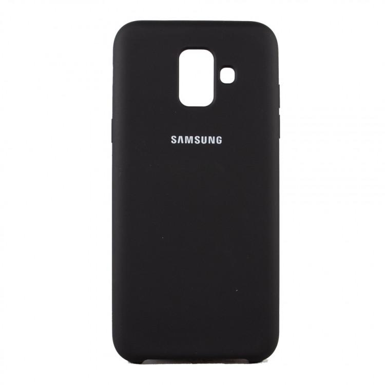 Чехол Silk Silicon для Samsung Galaxy A6 2018 Black (PC-003025)