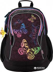 Рюкзак школьный Kite Style 47х36х20 см 34 л Черный (K17-854L)