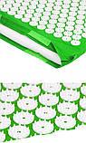 Масажний акупунктурний килимок міні | Масажер для всього тіла | Аплікатор Кузнєцова, фото 6