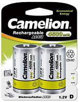 Аккумулятор Camelion R20-2BL Ni-Cd 4500 мАч (2 шт)