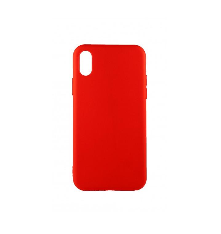 Накладка TPU Soft для Apple iPhone X Червона (AT-100027)