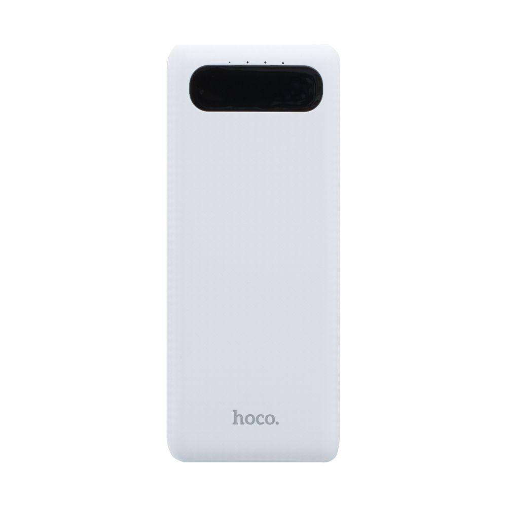 Портативна батарея Power Bank Hoco B20A 18W LED дисплей 20000 mAh Білий