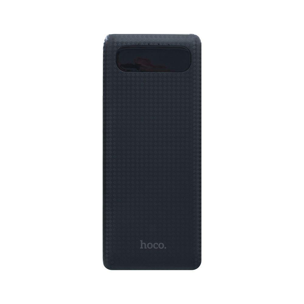 Портативная батарея Power Bank Hoco B20A 18W LED дисплей 20000 mAh Чёрный