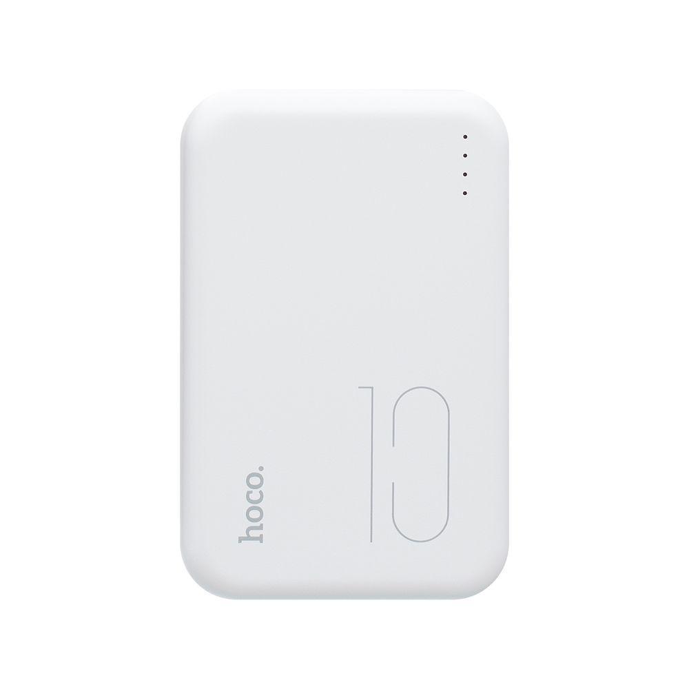 Портативная батарея Power Bank Hoco J38 LED индикатор 10000 mAh Белый