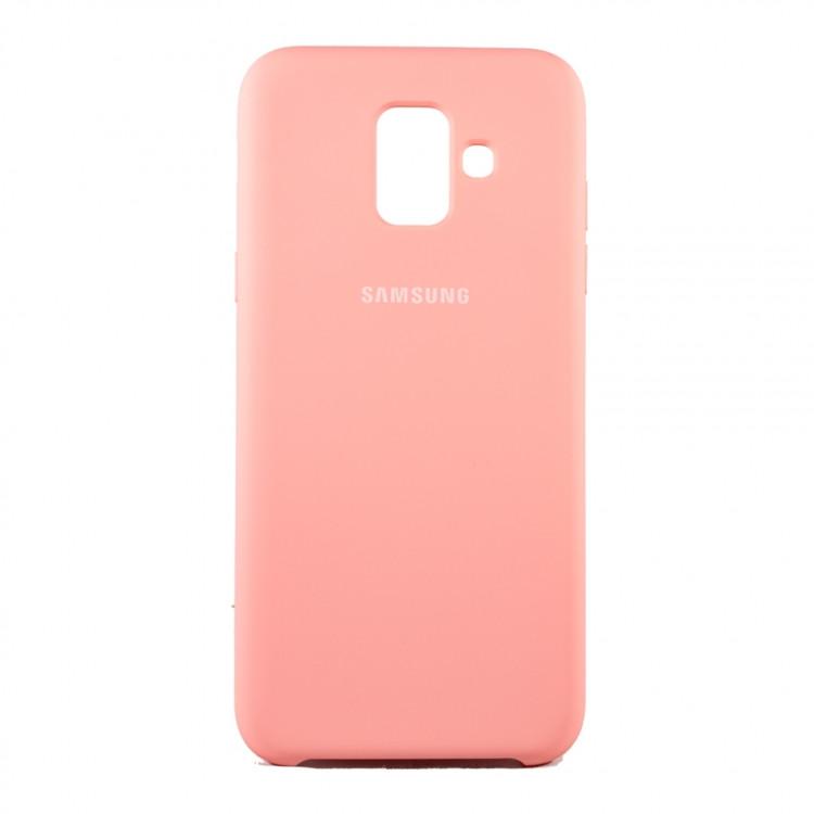 Чохол Silk Silicon для Samsung Galaxy A6 2018 Sweet Pink (PC-003029)