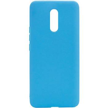 Силиконовый чехол Candy для Xiaomi Redmi Note 4X / Note 4 (SD) Голубой