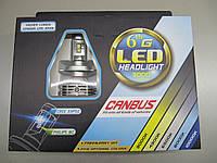 Светодиодные автомобильные лампы H4 - G6  Canbus (ближний/дальний)