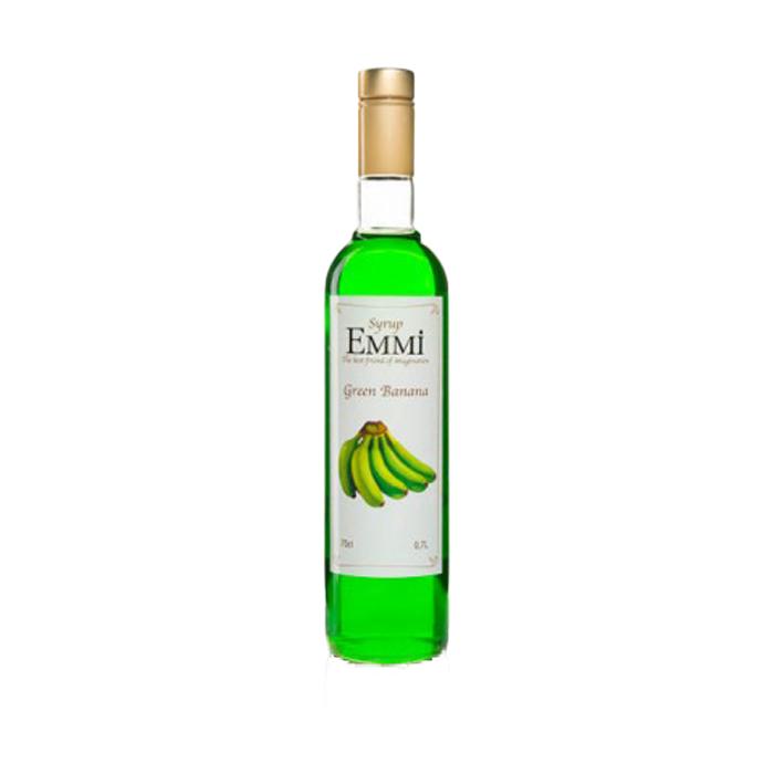 """Банановий сироп ТМ """"EMMI"""", пизан, 0,7 л, 1 ящ/9 шт (арт.1066)"""