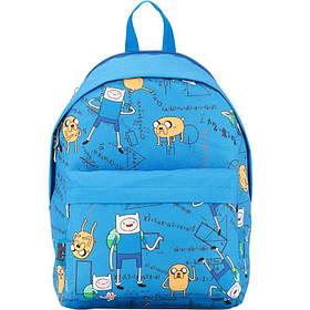 Рюкзак детский Kite Adventure Time 41x30x15 см 18 л Синий (AT17-1001M)