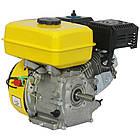 Двигатель бензиновый Кентавр ДВЗ-210Б  Двигатель на культиватор, генератор, мотопомпу., фото 3