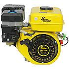 Двигатель бензиновый Кентавр ДВЗ-210Б  Двигатель на культиватор, генератор, мотопомпу., фото 5