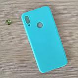 Чехол TPU Soft Case для Huawei P Smart Z 2019 Blue (PP-002807), фото 2