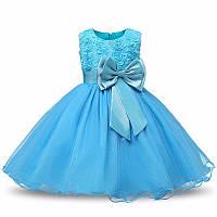 Детское нарядное пышное платье на рост 110