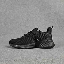 Жіночі кросівки Adidas Alphabounce Instinct (чорні) O20358 зручні кроси текстильні