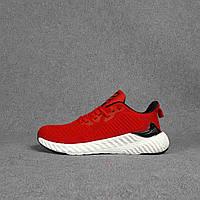 Мужские кроссовки Adidas (красные) O10438 легкие качественные кроссы на пене для парней
