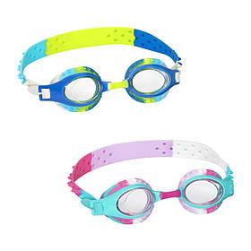 BW Окуляри для плавання 21099 (24шт) 2 кольори, від 3 років