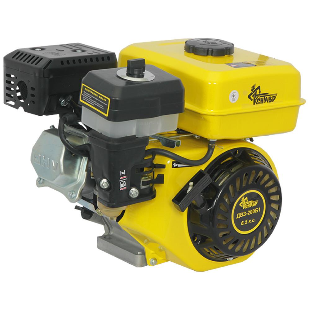 Двигун бензиновий Кентавр ДВЗ-200Б1 Двигун на культиватор, генератор, мотопомпу.