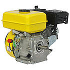 Двигун бензиновий Кентавр ДВЗ-200Б1 Двигун на культиватор, генератор, мотопомпу., фото 2