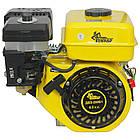 Двигун бензиновий Кентавр ДВЗ-200Б1 Двигун на культиватор, генератор, мотопомпу., фото 4