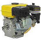 Двигун бензиновий Кентавр ДВЗ-200Б1 Двигун на культиватор, генератор, мотопомпу., фото 3