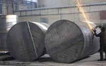 Размеры металлических емкостей
