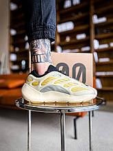 Жіночі кросівки Adidas Yeezy 700 V3 Saflower (бежевий) К3400 зручні модні кроси