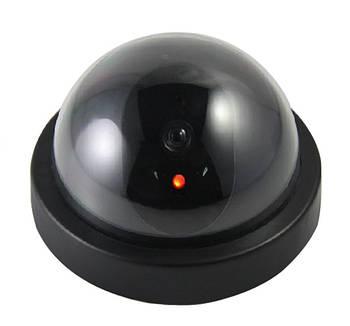 Камера видеонаблюдения обманка муляж купольная 6688