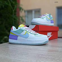 Жіночі кросівки Nike Air Force 1 Shadow (кольорові) О20213 повсякденні якісні кроси