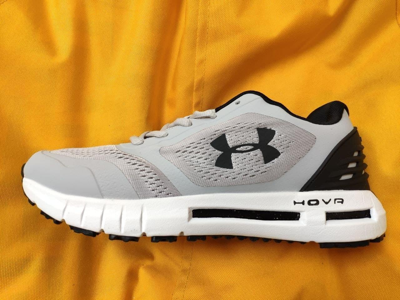 Мужские кроссовки Under Armour Hovr (серые) D105 спортивная качественная обувь