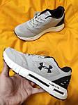 Мужские кроссовки Under Armour Hovr (серые) D105 спортивная качественная обувь, фото 8