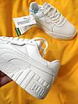Женские кроссовки Puma cali (Белые) D107 спортивные демисезонные кеды для девушек, фото 6