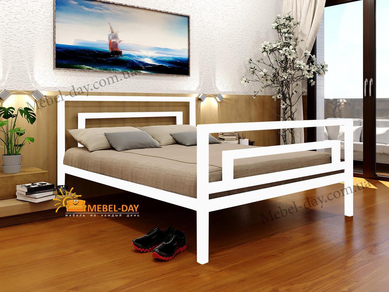 Ліжко двоспальне металева Бріо-2 МТ Метакам