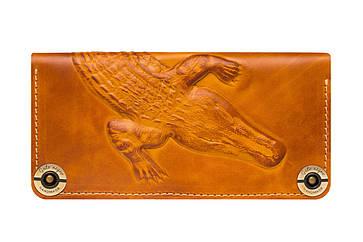 Шкіряний жіночий гаманець Alligator