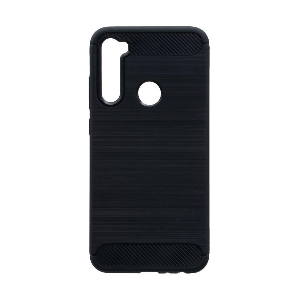 Чехол для Xiaomi Redmi Note 8 черный Polished Carbon / Чехол для Ксяоми Сяоми Ксиоми ноут 8