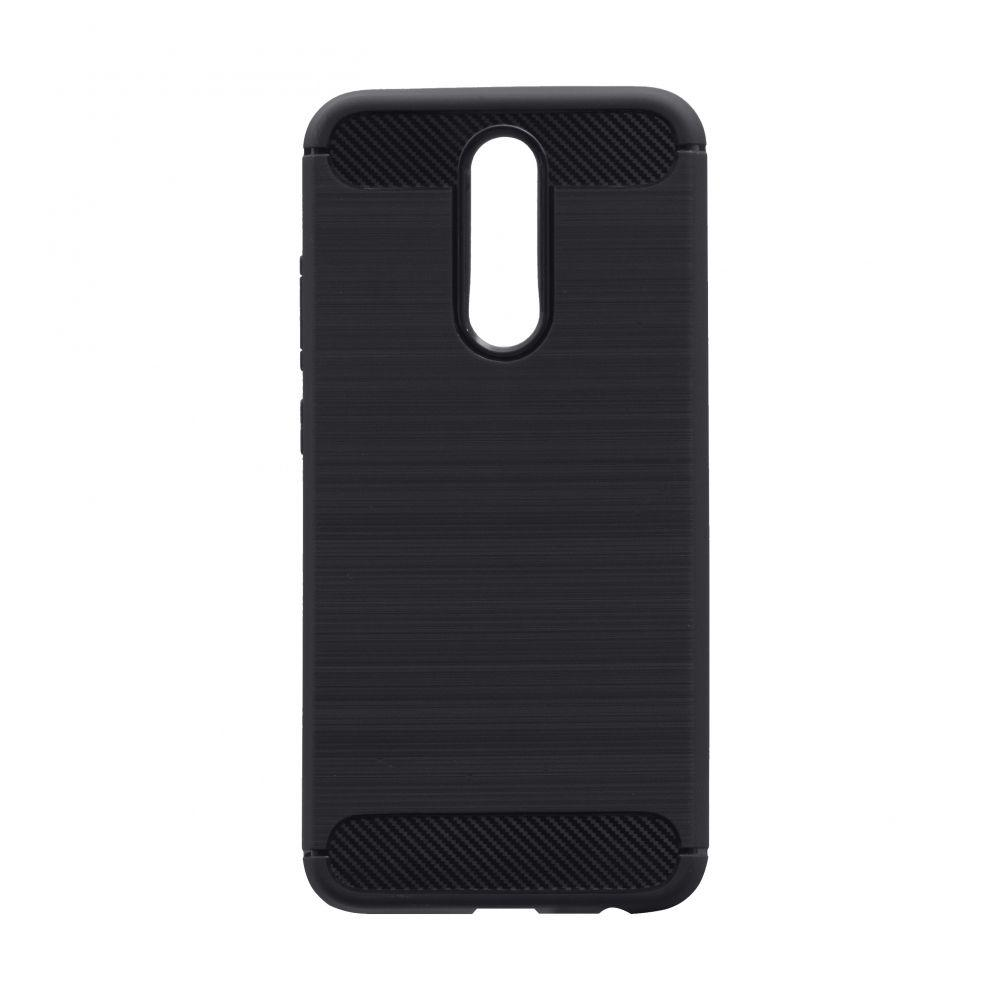 Чехол для Xiaomi Redmi 8 черный Polished Carbon / Чехол для Ксяоми Сяоми Ксиоми 8