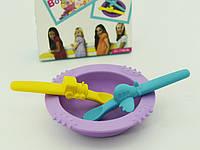 Столовый набор детский 3 пр. (силикон), детская посуда