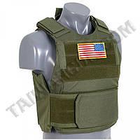 Разгрузка - Жилет PT Tactical Body Armor Олива
