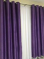 Люверсы на шторы для дома зала спальни кабинета, шторы из блэкаута в кухню комнату зал квартиру, шторы от, фото 8