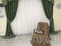 Готовые шторы для дома спальни кухни гостинной блэкаут, шторы в гостинную спальню детскую с ламбрекеном, шторы, фото 5
