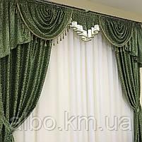 Готовые шторы для дома спальни кухни гостинной блэкаут, шторы в гостинную спальню детскую с ламбрекеном, шторы, фото 8