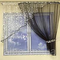 Фіранка коротка для залу спальні дитячої балкона, фіранка з сітки в квартиру кімнату спальню, оригінальні фіранки для будинку, фото 6