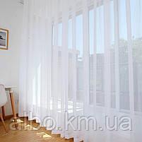 Тюль в зал спальню кухню из турецкого шифона, готовый тюль в спальню детскую квартиру комнату, стильная тюль в, фото 2