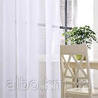 Тюль в зал спальню кухню из турецкого шифона, готовый тюль в спальню детскую квартиру комнату, стильная тюль в, фото 3