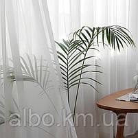 Тюль в зал спальню кухню из турецкого шифона, готовый тюль в спальню детскую квартиру комнату, стильная тюль в, фото 4