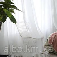 Готовый тюль на кухню, тюль шифон для спальни зала комнаты квартиры, тюль шифоновый в детскую комнату зал хол, фото 2