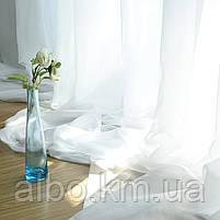 Готовый тюль на кухню, тюль шифон для спальни зала комнаты квартиры, тюль шифоновый в детскую комнату зал хол, фото 5